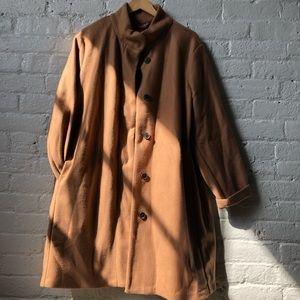 Old Navy Camel Long Coat